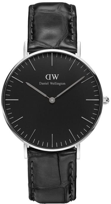Daniel Wellington Quarzuhr »Classic Black Reading, DW00100147« in schwarz