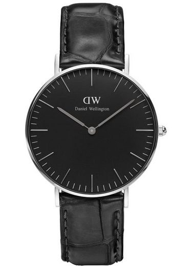 Daniel Wellington Quarzuhr »Classic Black Reading, DW00100147«