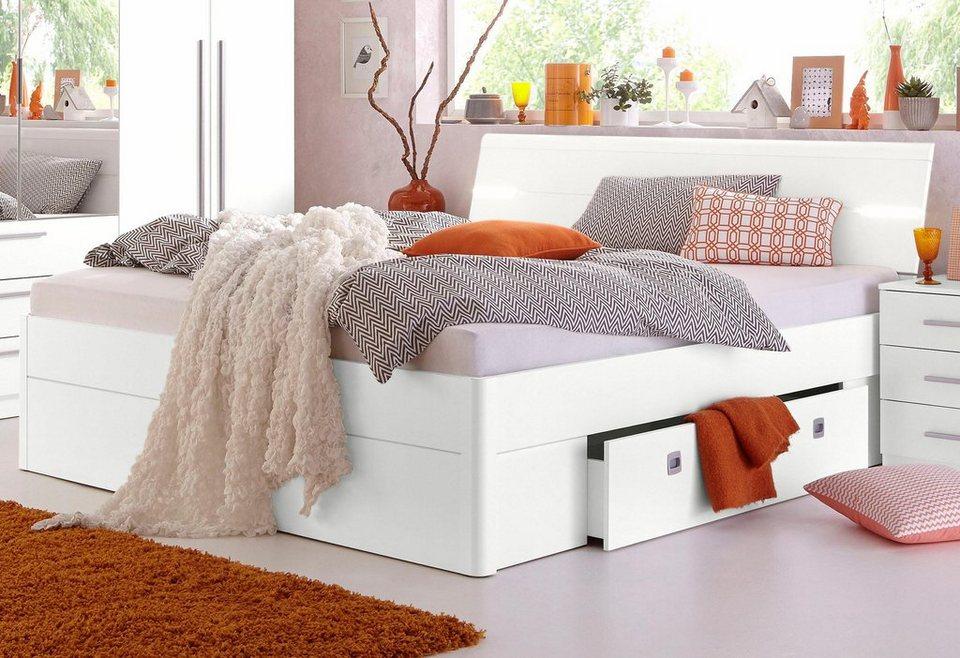 Funktionsbett 140x200 mit lattenrost und matratze  Stauraumbett online kaufen | OTTO