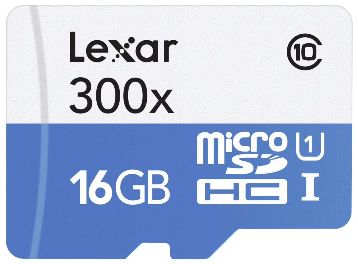 Lexar Speicherkarten »microSDHC High Speed 16GB without Adapter Class 10«