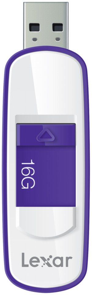 Lexar Speichermedien »JumpDrive USB 3.0 16GB S75« in weiß / violett
