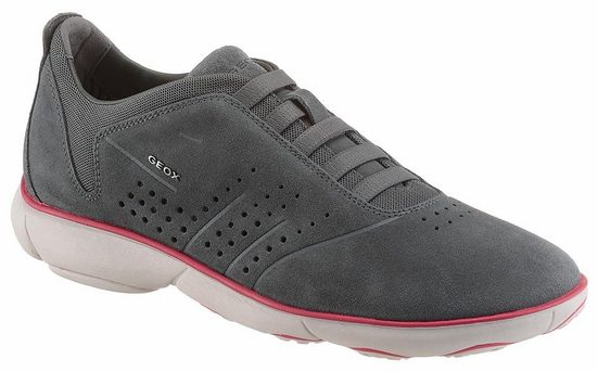 Geox U Nebula Sneaker, With Removable And Padded Leather Insole