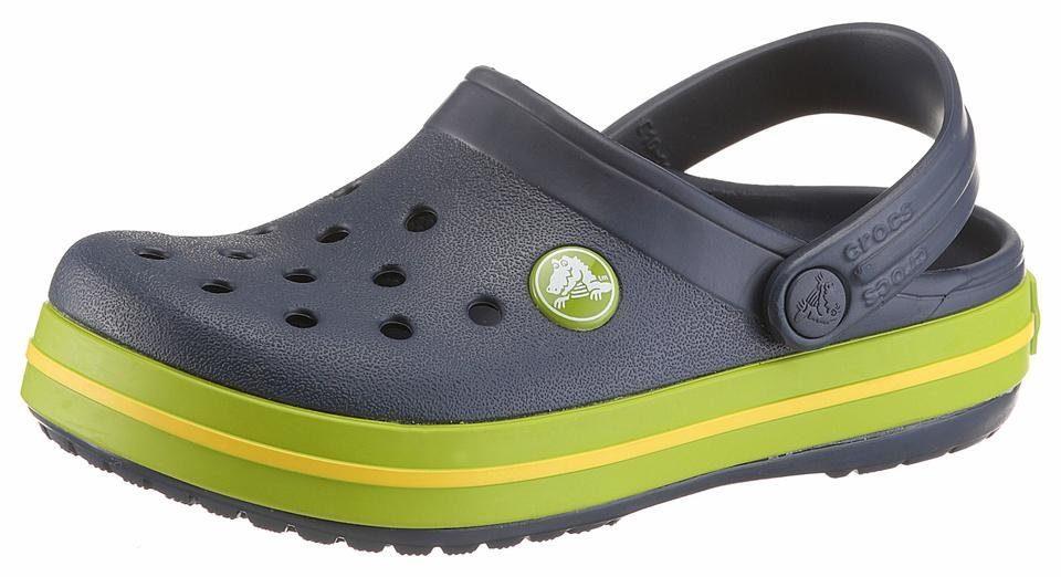 Crocs »Crocband Clog« Clog, mit kontrastfarbenen Akzenten, orange, orange-grau