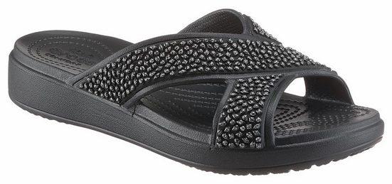 Crocs Crocs Sloane Embellished XStrap Pantolette