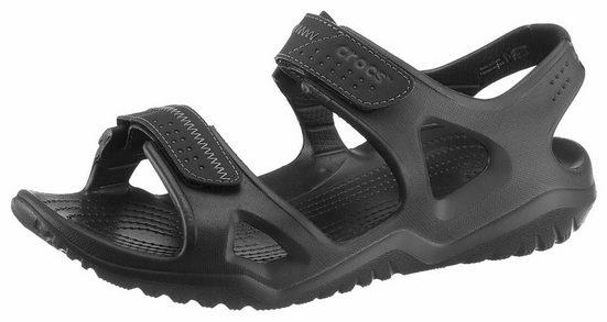 Crocs Swiftwater River Sandal Sandale, mit 2 verstellbaren Klettverschlüssen