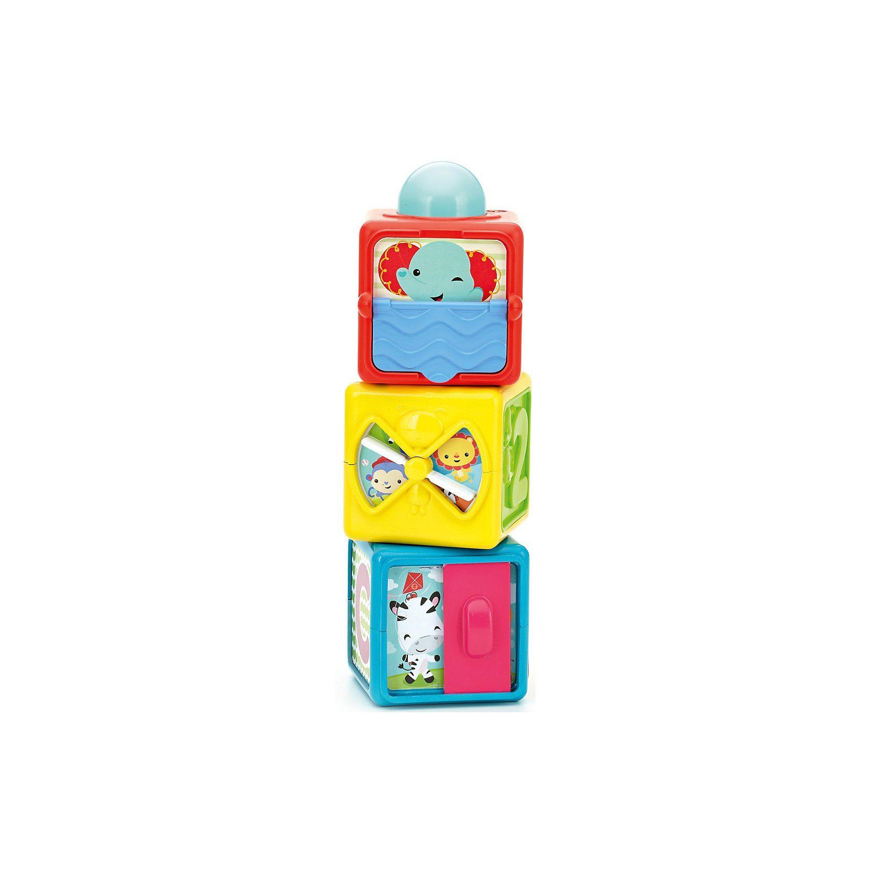 Mattel® Fisher-Price Spiel- und Stapelwürfel