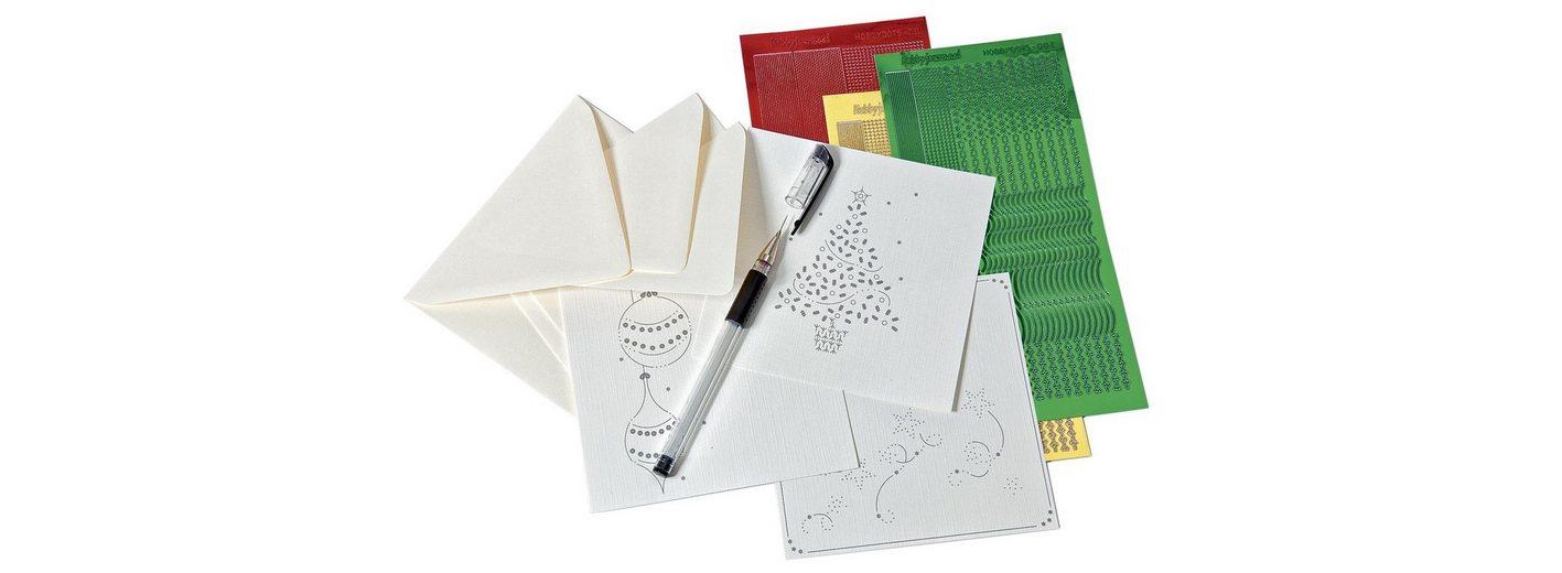 Hobby-Dots-Zierkarten-Komplett-Set,10-tlg.
