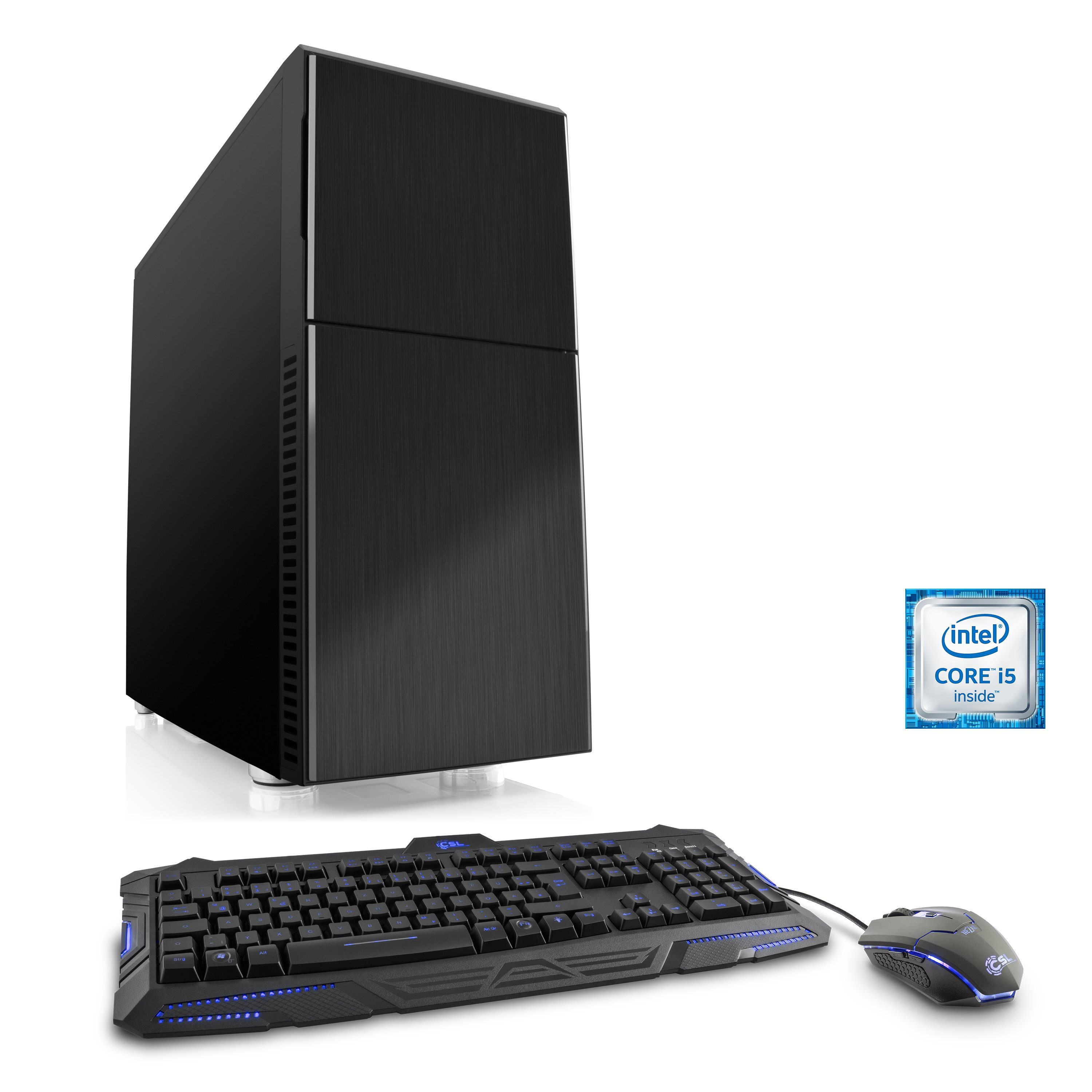 CSL Gaming PC | Core i5-6600K | GeForce GTX 1070 | 16 GB RAM | SSD »Speed T5694 Windows 10 Home«