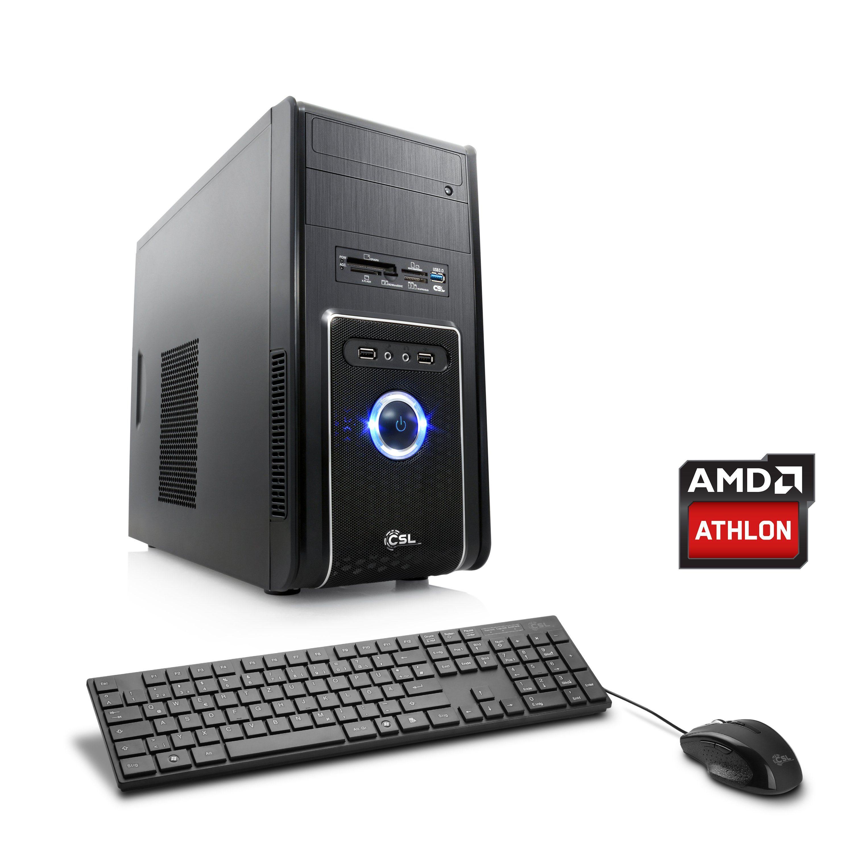 CSL Multimedia PC | Athlon 5370 | HD 8400 | 8 GB RAM »Sprint T2212 Windows 10 Home«