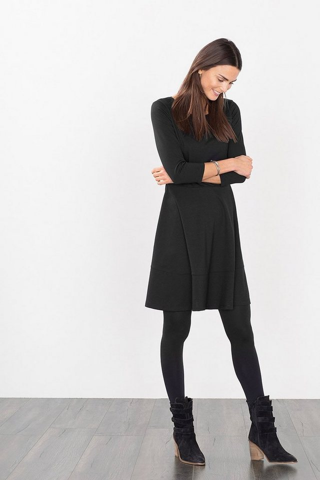 ESPRIT CASUAL Feminines Jersey-Stretch-Kleid in BLACK