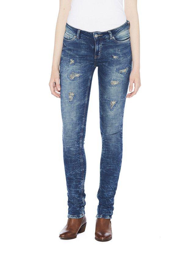 COLORADO DENIM Jeans »C956 SKINNY Damen Jeans« in dark blue destro