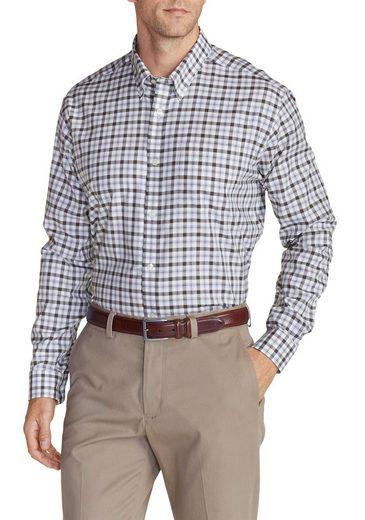 Eddie Bauer Knitterarmes Oxfordhemd - Langarm - Gemustert