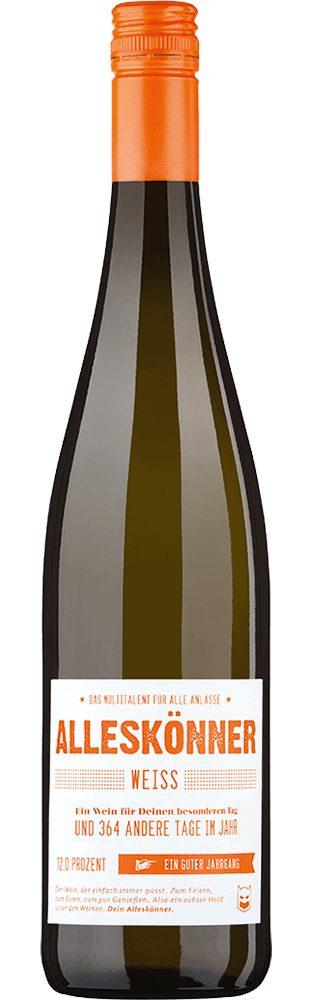 Weisswein aus Deutschland, 12,0 Vol.-%, 75,00 cl »2016 ALLESKÖNNER® Weiss trocken«