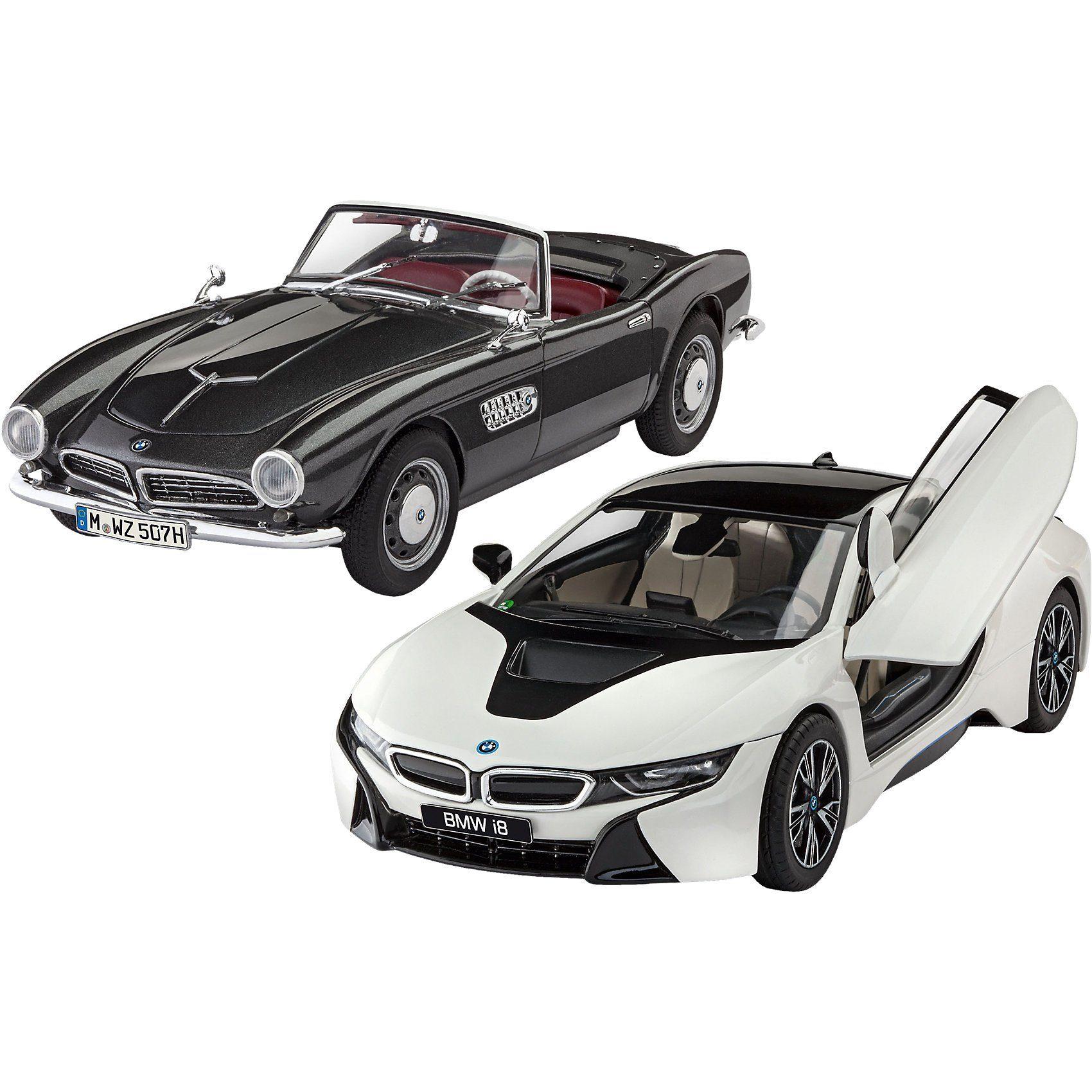Revell® Modellbausatz Geschenkset 100 Jahre BMW