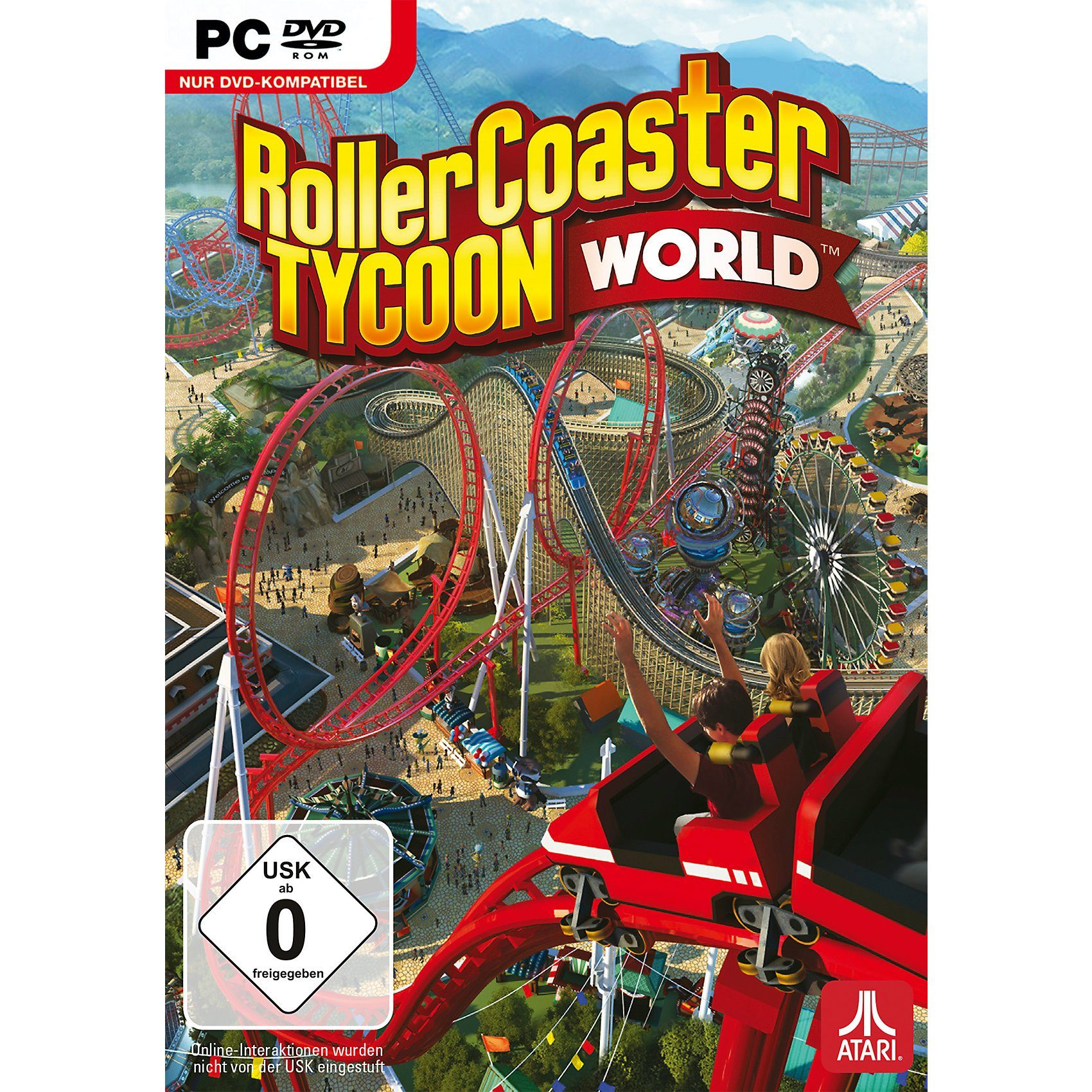 Sony Computer Entertainment PC Rollercoaster Tycoon World