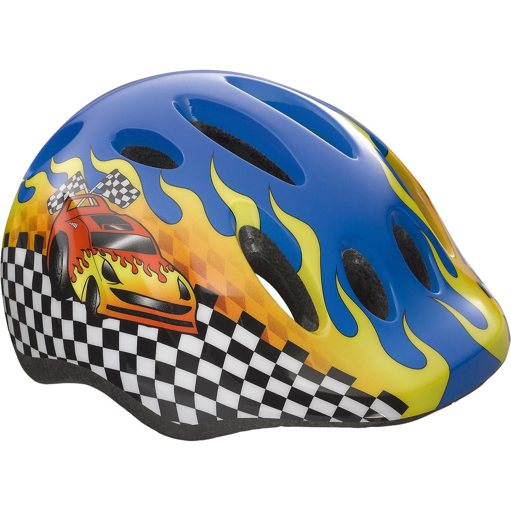 Lazer Fahrradhelm Max+ Auto Gr. 49-56, blau
