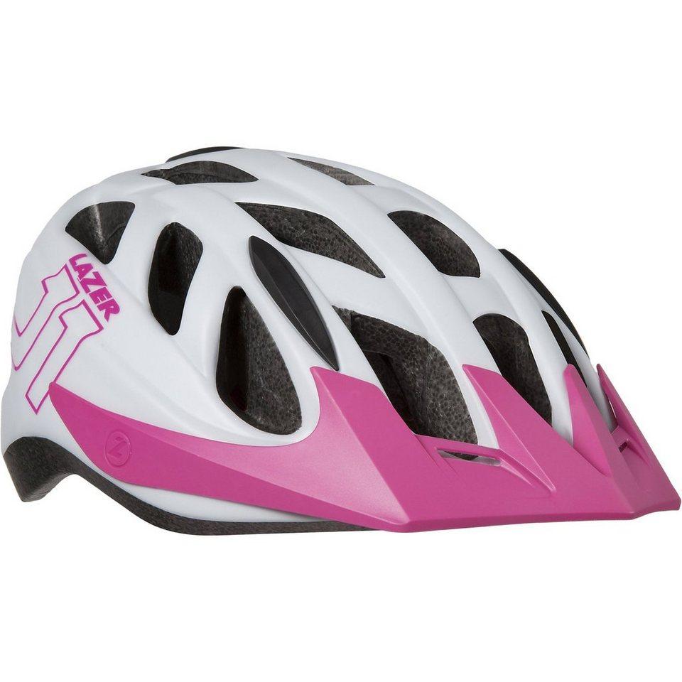 Lazer Fahrradhelm J1 Gr. 52-56, weiß-pink