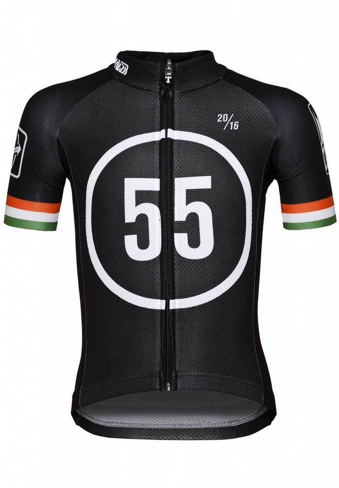 Bioracer Trikot »Eschborn-Frankfurt 55 Pro Race Jersey Kids« in schwarz