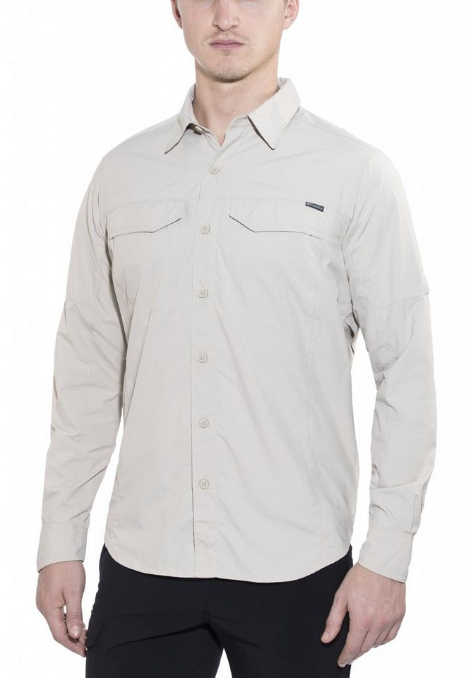 Columbia Hemd »Silver Ridge Long Sleeve Shirt Men« in beige