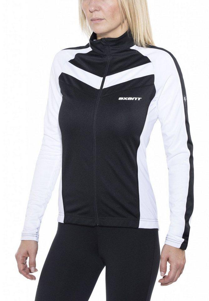 axant Radtrikot »Expert Thermo Jersey Women« in schwarz