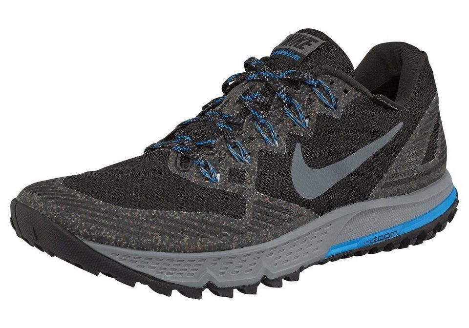 Nike »Air Zoom Wildhorse 3 GTX« Laufschuh in schwarz-grau