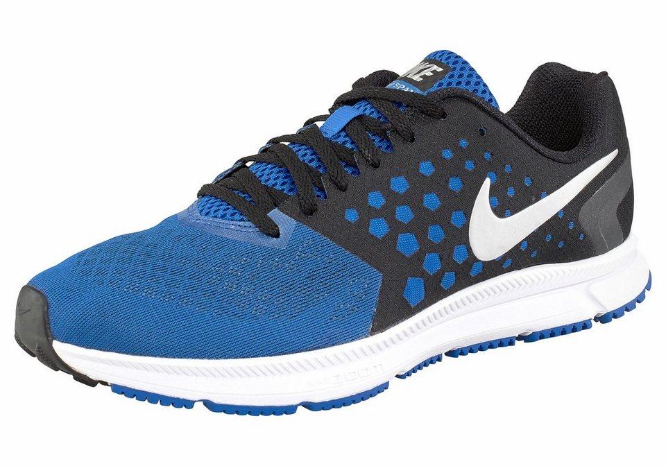 Nike »Zoom Span« Laufschuh in blau-silberfarben