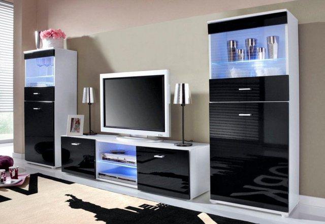 Wohnwände - borchardt Möbel Wohnwand »Wand«, (Set, 3 St)  - Onlineshop OTTO