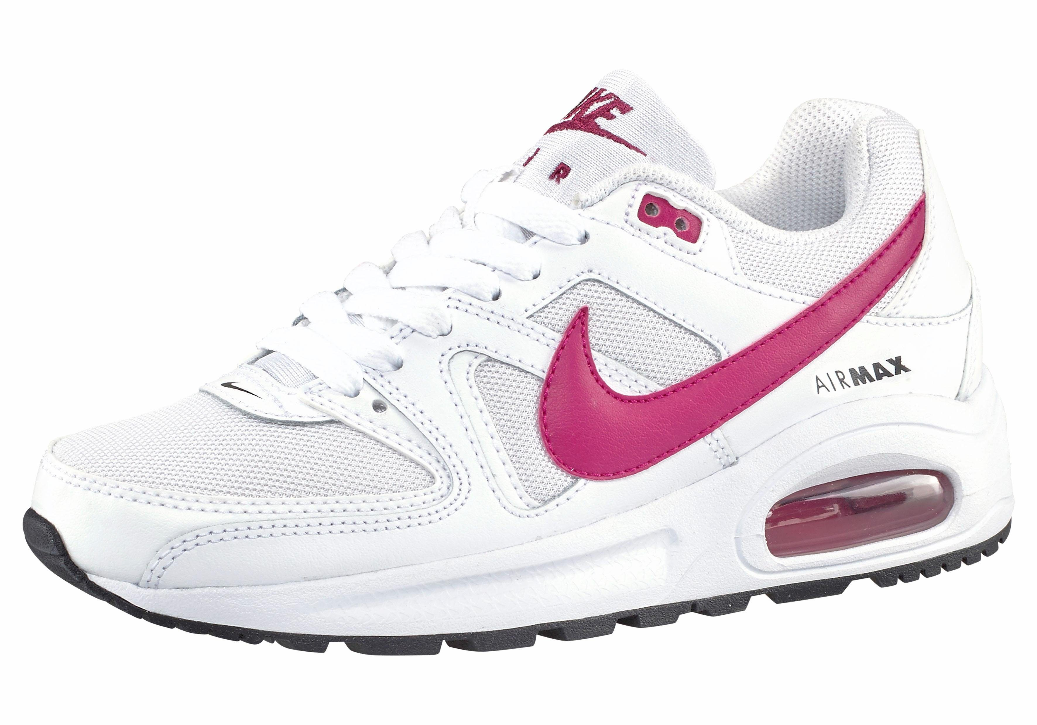 air max command weiß pink