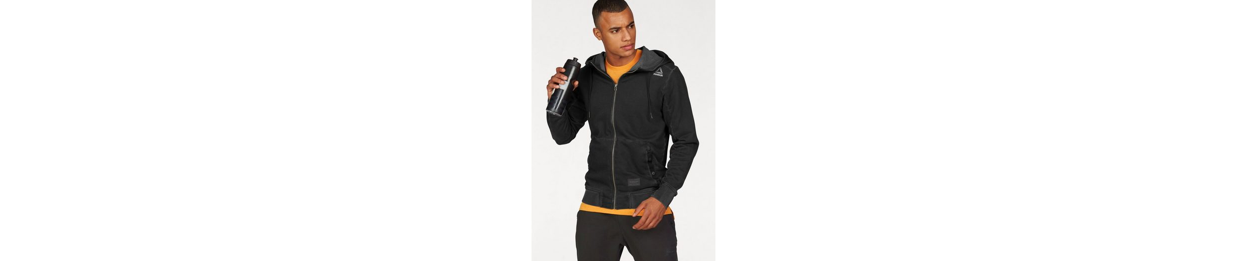 Reebok Kapuzensweatjacke NOBLE FIGHT FULL-ZIP HOOD
