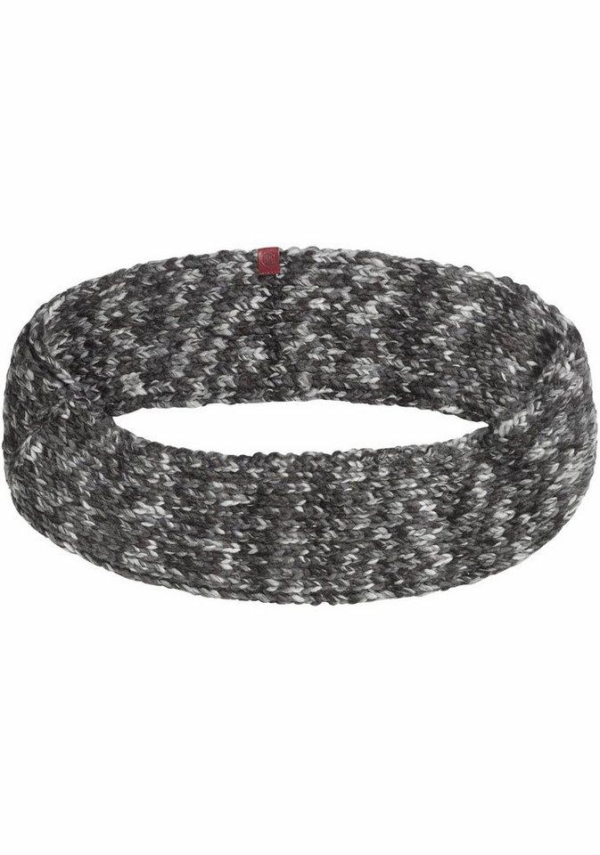 Buff Loop »Knitted Infinity Buff®« Stirnband in grau