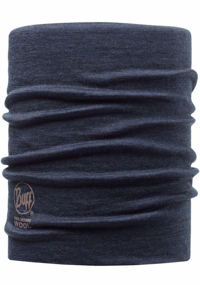 Buff Multifunktionstuch »Merino Wool Neckwarmer Buff®« Hals- oder Kopftuch in blau