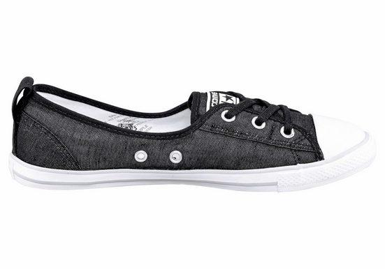 Converse Ballet Lace Stripes Slip Sneaker