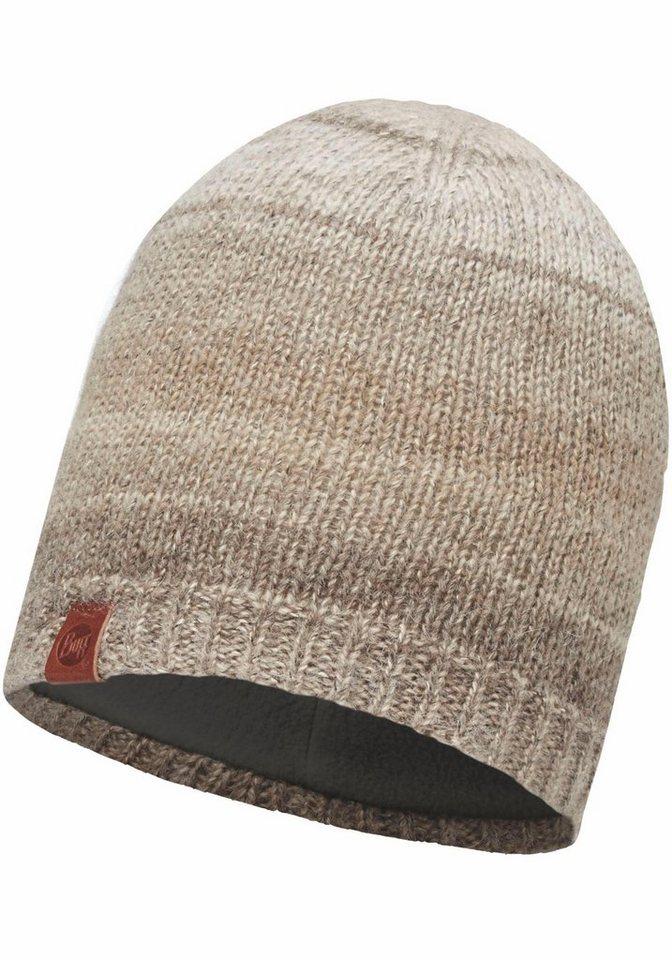 Buff Beanie Mütze in beige