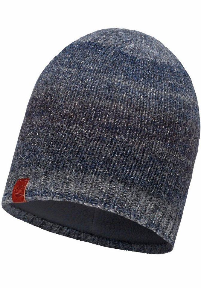 Buff Beanie »Knitted Polar Fleece Hat« Mütze in grau