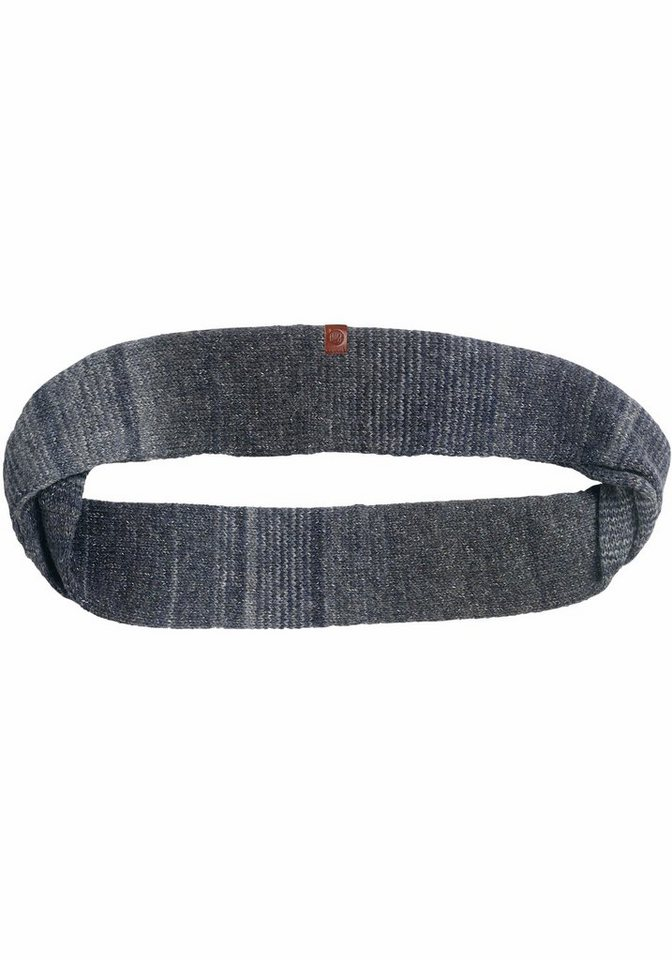 Buff Loop »Knitted Infinity Buff®« Stirnband in blau