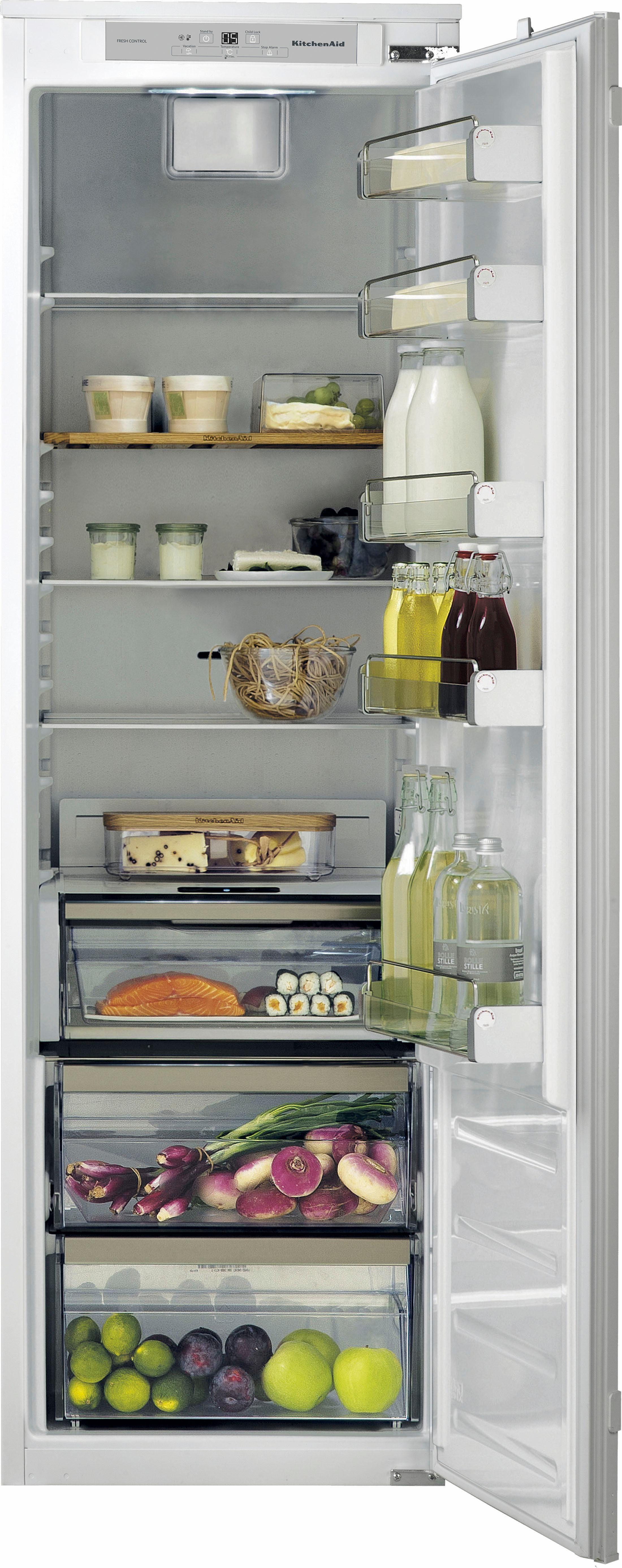 KitchenAid® vollintegrierbarer Kühlschrank KCBNS 18602, Energieklasse A+++, für 178er Nische
