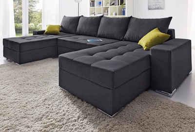 Eckcouch u form  Wohnlandschaft online kaufen » Sofa in U-Form | OTTO