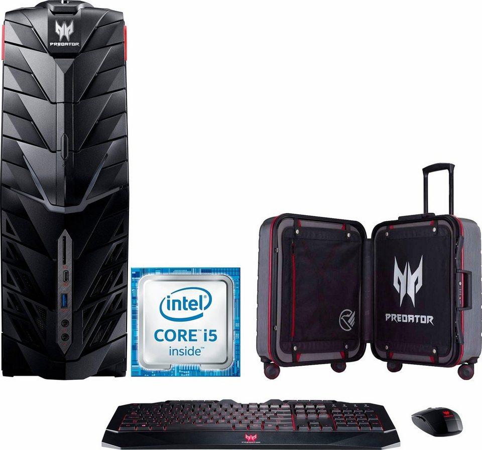 Acer Predator G1 PC Gaming-PC, Intel® Core™ i5, 8192 MB DDR4, 2128 GB Speicher