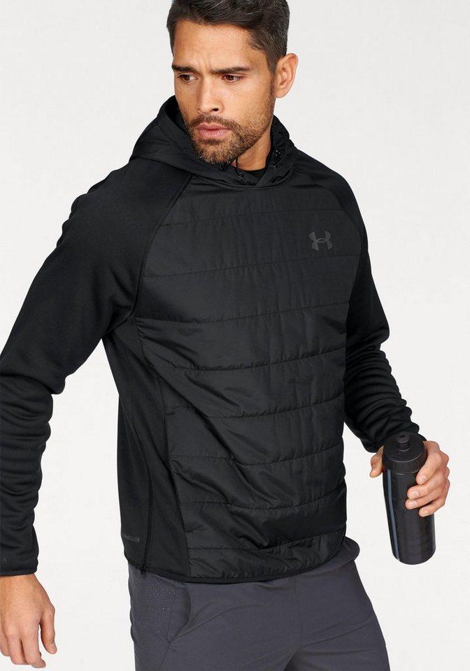 Under Armour® Kapuzensweatshirt »SWACKET INSULATED POPOVER HOODIE« in schwarz