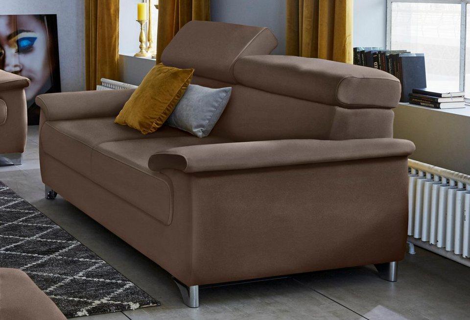DOMO Collection 3-Sitzer, inklusive Rückenverstellung online kaufen ...