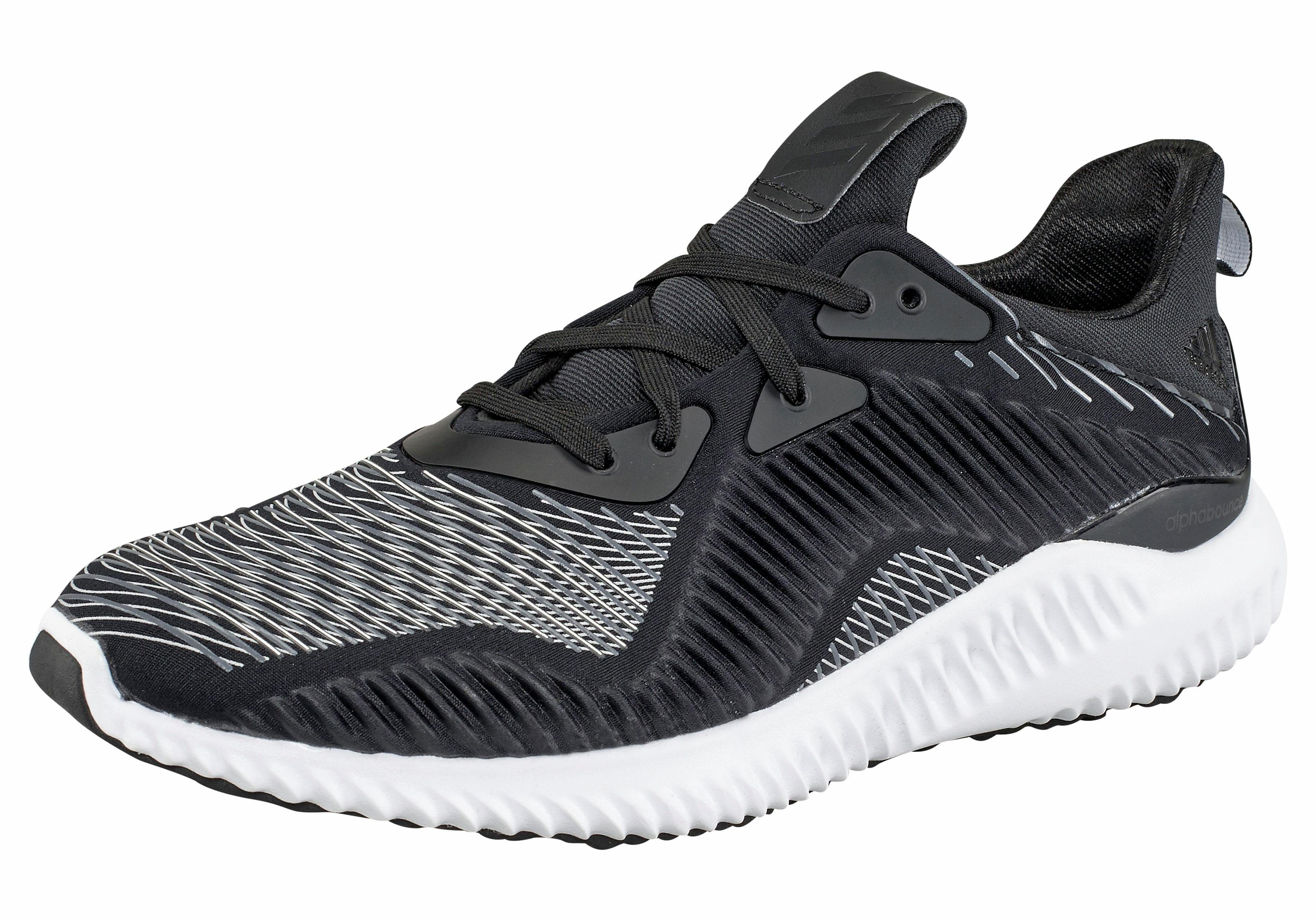adidas Performance Alphabounce RC M Sneaker  schwarz-grau