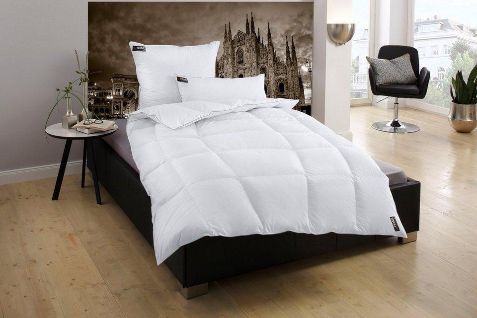 Bettdeckenset My Home Selection Mailand, Normal, 90% Daunen, 10% Federn