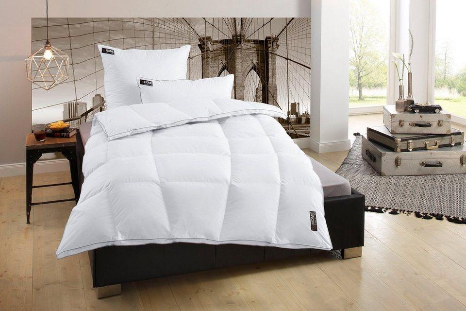 Bettdeckenset My Home Selection New York, Warm, 100% Gänsedaunen