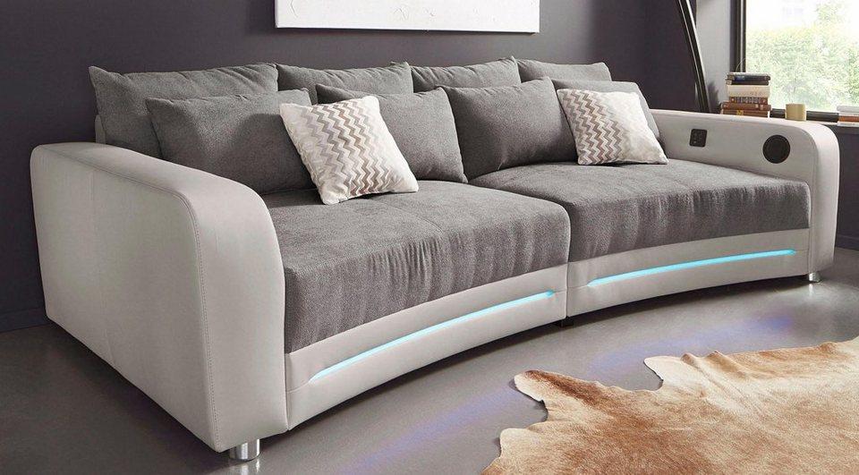 Big Sofa Inklusive RGB LED Beleuchtung