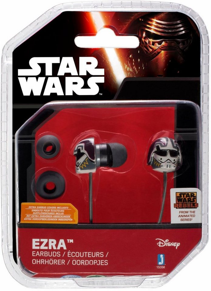 In Ear Kopfhörer, »Disney Star Wars™ Rebels, Ezra« in weiß/ farbig