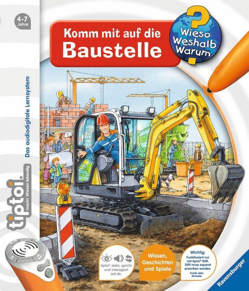 Ravensburger Buch, tiptoi®, WWW – »Komm mit auf die Baustelle«