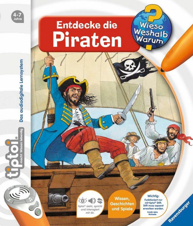 Ravensburger Buch, tiptoi®, »WWW - Entdecke die Piraten«