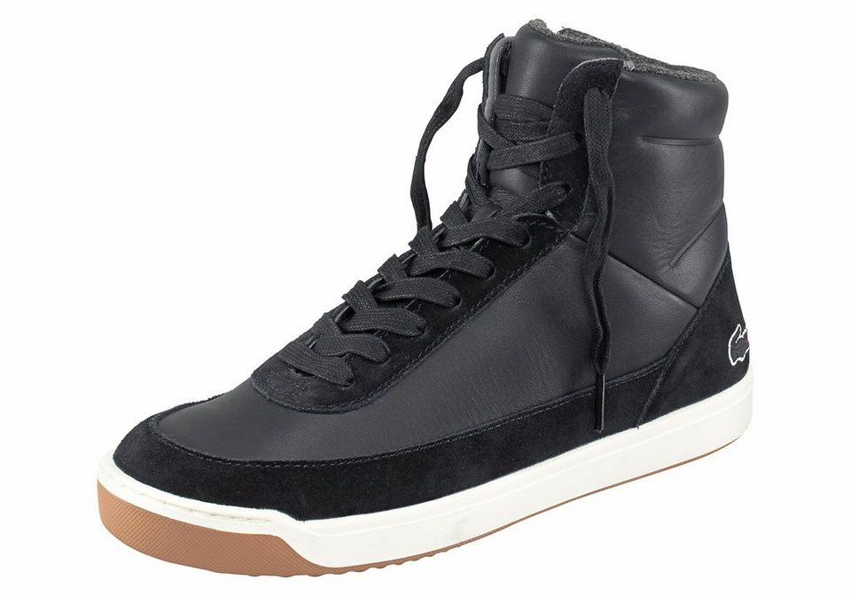 Lacoste »Explorateur Calf« Sneaker in schwarz