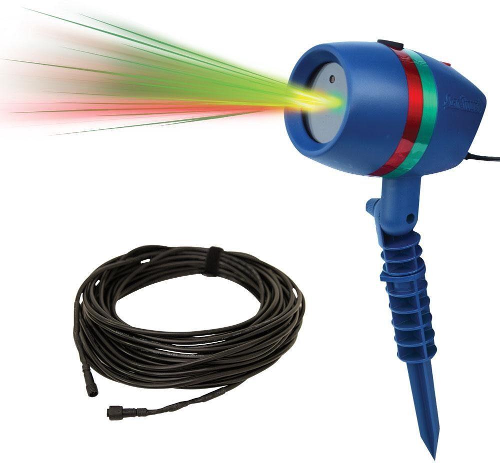 TV Werbung, Beweglicher Laserstrahler inkl. Verlängerungskabel, »Star Shower Motion«