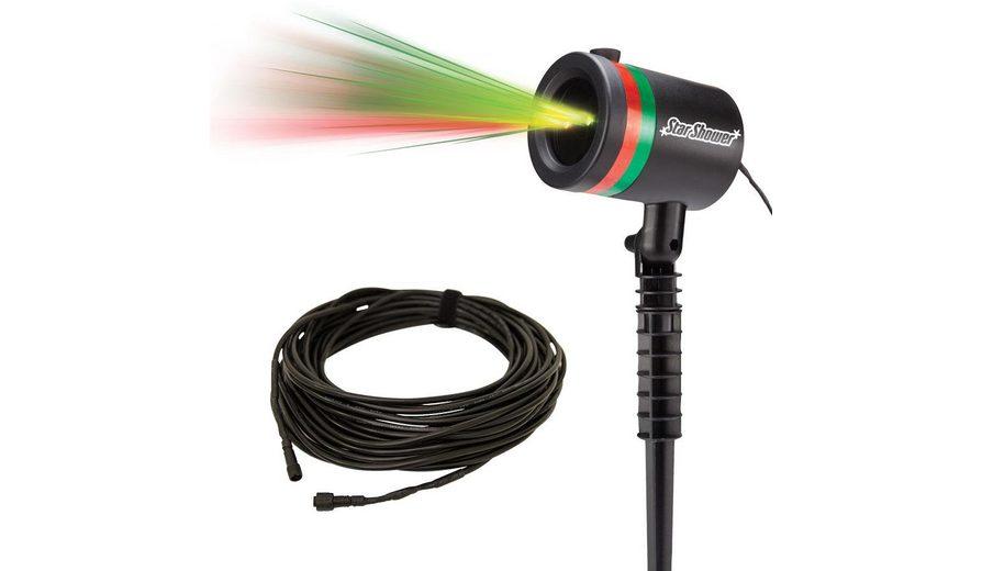 TV Werbung Laserlicht System inkl. 20 m Outdoor-Verlängerungskabel, »Star Shower«